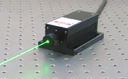 High stability laser at 532 nm
