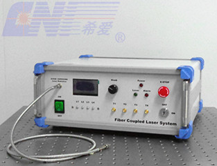 multi-wavelength fiber coupled laser